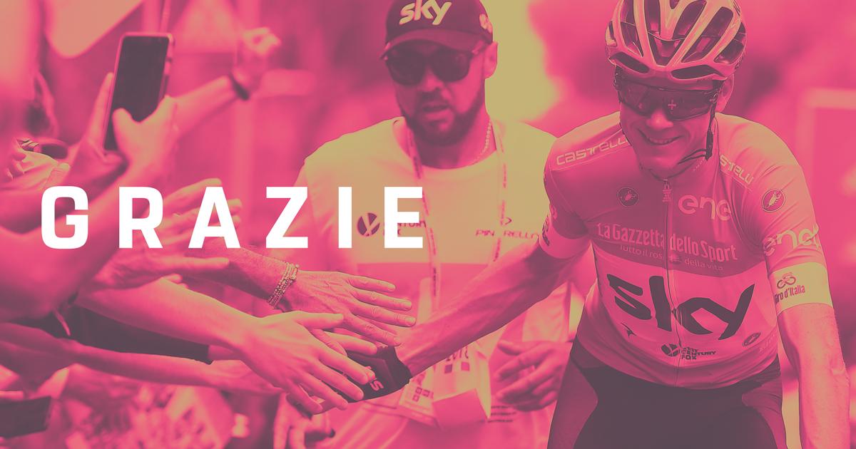 Giro d'Italia: 101 Grazie!